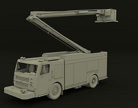 3D model Firetruck ACP