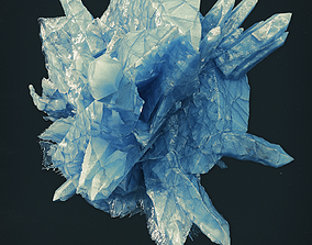 3D model Crystal High Poly 1