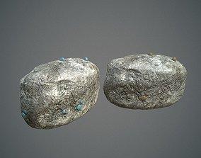 Rock mineral ore 3D model
