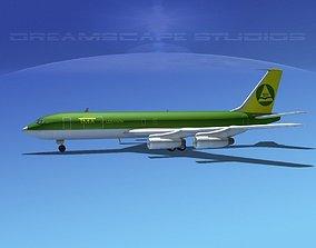 3D Boeing 707 Lebanon