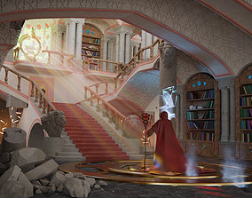 3D scene magic library