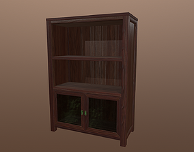 3D model Pacifica Inspired Bookshelf