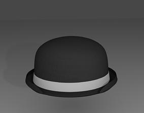 3D classic Bowler hat
