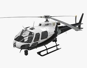 3D model VR / AR ready AS-350 Edmonton Police Service