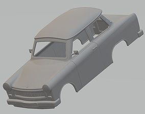 Trabant 601 Printable Body Car