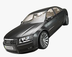 3D Audi A8 2002 Quattro