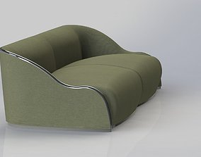 3D model contemporan sofa
