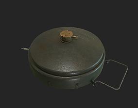 3D WWII Anti-Tank Mine