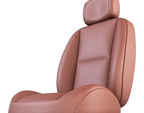 Sedan Car Seat 3D