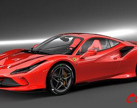 3D Ferrari F8 Tributo