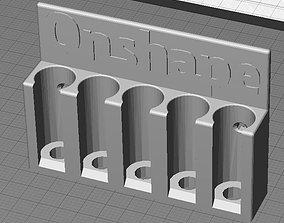 Onshape Marker Holder 3D print model