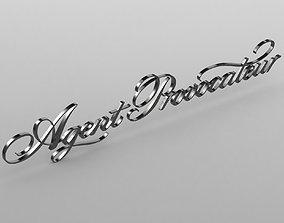 agent provocateur logo 3D model