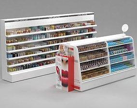 3D model LOreal Paris Cosmetics Stand vol2