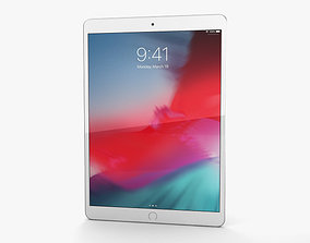 3D model Apple iPad Air 2019 Cellular Silver