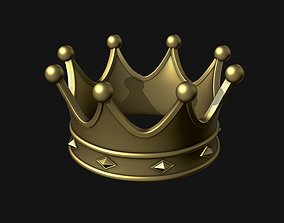 Crown 3D print model