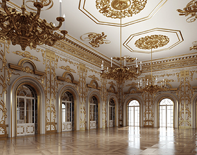 3D model Classic Interior Scene 333