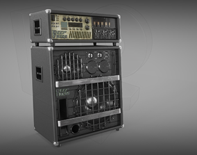 Bass-Guitar Amplifier 3D