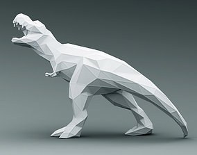 3D PRINTED MODEL T-REX-ABSTRACT-DESIGN