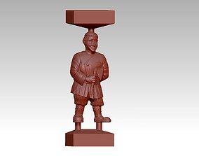 man salty sculpture 3D print model