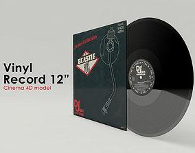 Vinyl Record 3D