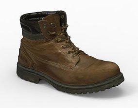 3D model man boot