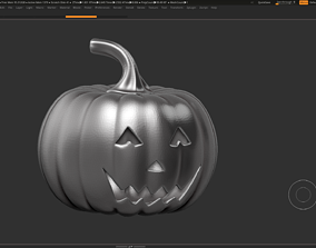 halloween pumpkin 3D print model