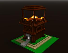 3D print model House-Tower