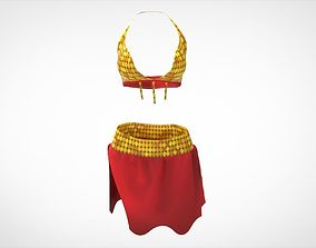 3D asset Belly dance cloth