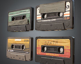 Cassette Tapes 80s VR / AR ready