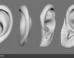 Ear 02- 3D