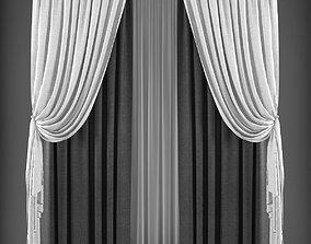 Curtain 3D max VR / AR ready