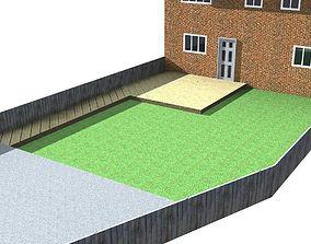 3D Garden Decking