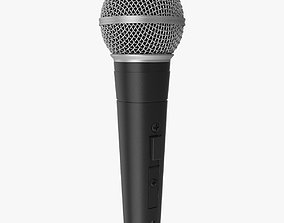 3D model Microphone - SM58