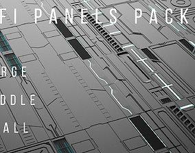 Sci-Fi-Panels-Pack 20 3D model
