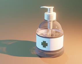3D model Generic Toilette Hand Sanitizer - Admigual