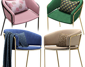 3D model La Forma Chair KONNIE