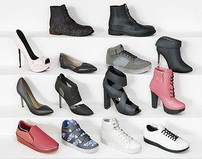 Shoe collection 3D