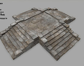 3D model stairs 4