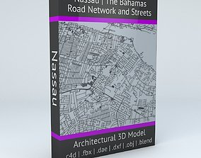 3D Nassau Road Network and Streets