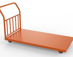 3D Generic Cart Heavy Duty Transport 03