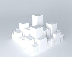 Cityscape 3 3D model