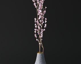 3D model Pink Blossom Vase
