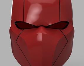 Red Hood Helmet Batman Version 3 3D printable model