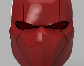 Red Hood Helmet Batman Version 3 3D printable model