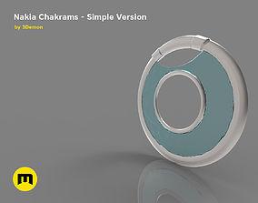 3D print model Nakia Chakrams simple version