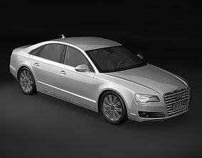 2011 Audi A8 3D model