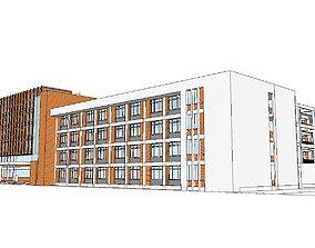 3D Office-Teaching Building-Canteen 45