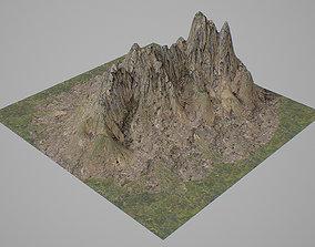 3D model Mountains V3
