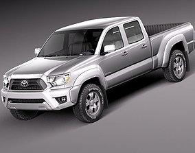 Toyota Tacoma 2012 Crew Cab 3D Model