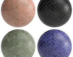 3D model Materials 7- Brick Tiles PBR